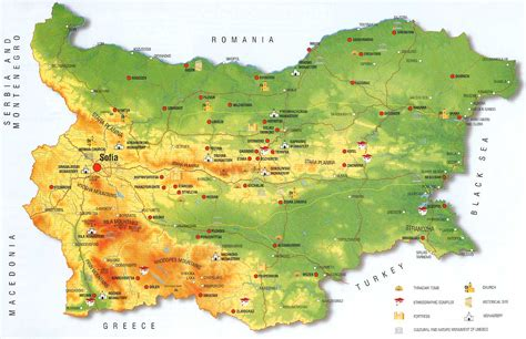 bulgaria map collection  maps  bulgaria maps