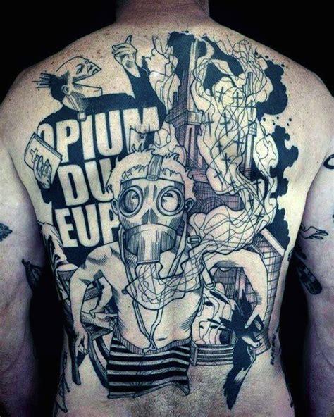 unique  tattoos  men manly body art design ideas