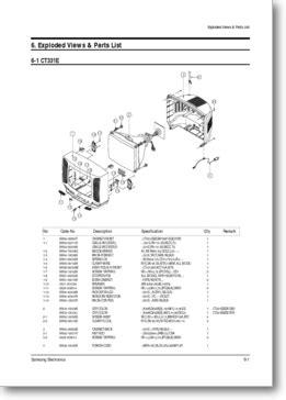 diagrama manual samsung ct5038 k15a