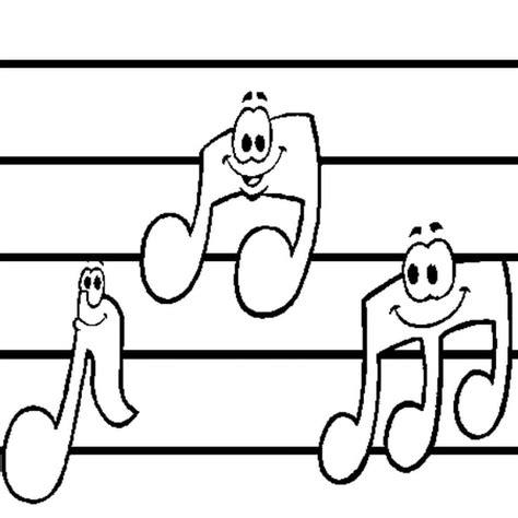 note de musique coloriage note de musique en ligne