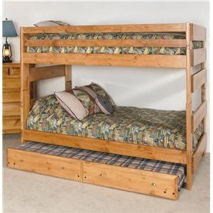 Trendwood Bunk Beds by Trendwood Visions Lofted Bunk Bed With Desk And