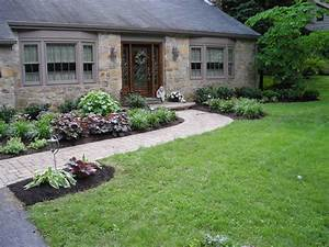 Landscaping front entrance landscaping ideas for Front entrance landscaping ideas