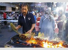 Food Fridays Satay at Singapore's Heritage Hawker Center