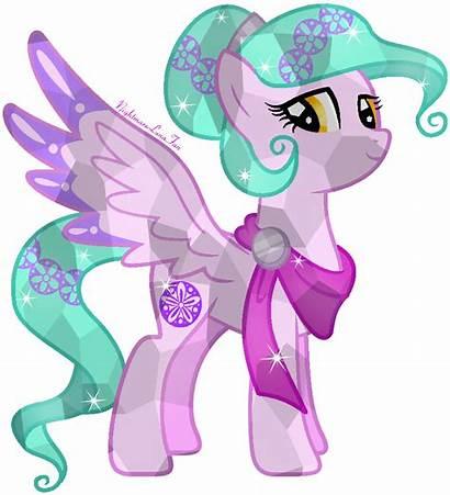 Crystal Mlp Pony Nightmarelunafan Lace Blossom Violet