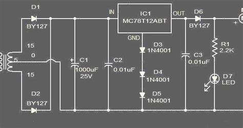 rangkaian charging battery mobil koleksi skema rangkaian artikel elektronika