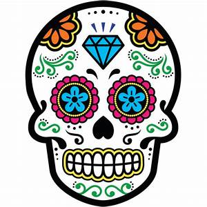 Tete De Mort Mexicaine Dessin : calavera tete de mort mexicaine 22 mpa d co ~ Melissatoandfro.com Idées de Décoration