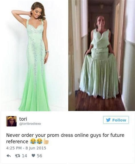 hilarious prom dress shopping fails showing