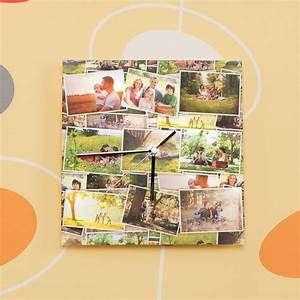 Wanduhr Mit Foto : fotouhr gestalten online wanduhr mit fotos selbst gestalten ~ Lizthompson.info Haus und Dekorationen