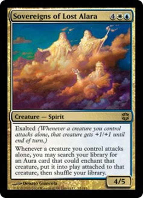 Mtg Budget Exalted Deck by Sovereigns Of Found Conscription Magic The Gathering