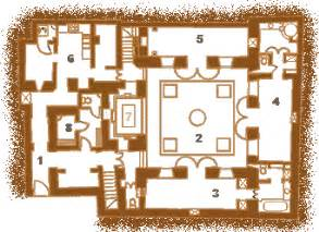 one bedroom home plans plan and layout of the riad jmya in marrakech