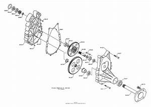 Dixon Ztr 6601  1996  Parts Diagram For Gearbox Assembly