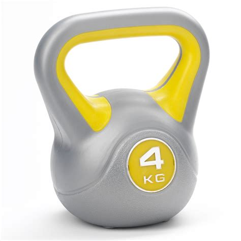 kettlebell vinyl kettlebells york weight 8kg 4kg dkn kg