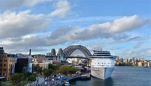 Aerial Urban Landscape View Of Sydney Circular Quay In ...