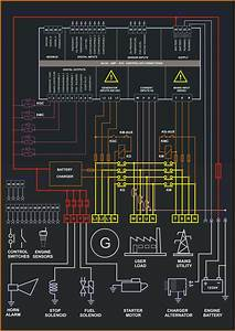 Control Panel Circuit Diagram  U2013 Backup Generator For Home