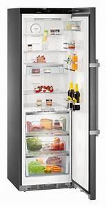 Liebherr kuhlschrank kbbs 4350 premium biofresh blacksteel for Biofresh kühlschrank