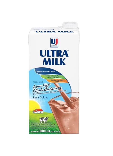 ultra susu cair  fat  calcium coklat tpk ml