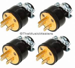 4x Extension Cord Replacement Electrical Ac Wall Power