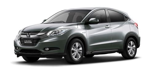 honda hr  suv  official images