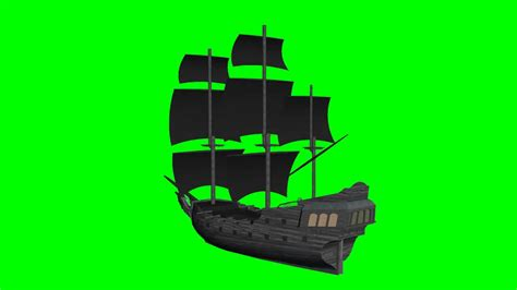Boat Green Screen by Ship Black Pearl Quot Free Chroma Key Effects Quot