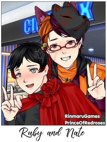 ruby rose x male reader oneshot unknown one shots ruby x nate by volteg77 on deviantart