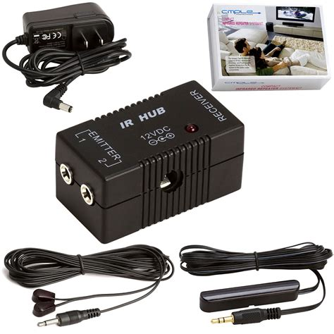 Compact Premium Infrared Repeater Kit System