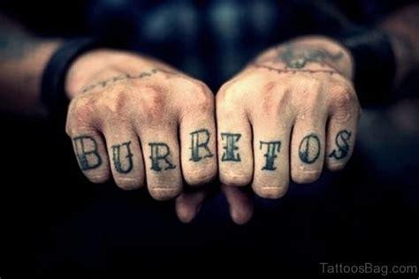 great finger tattoos