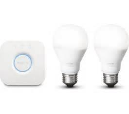 buy philips hue white smart bulb starter kit