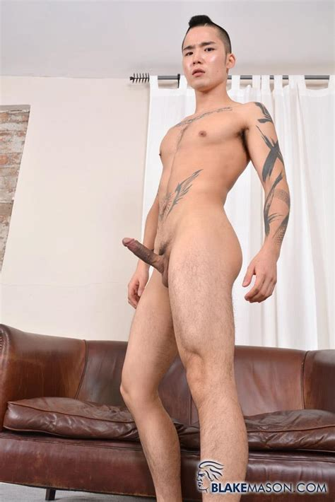 japanese twink stroking his big asian cock big uncut dicks