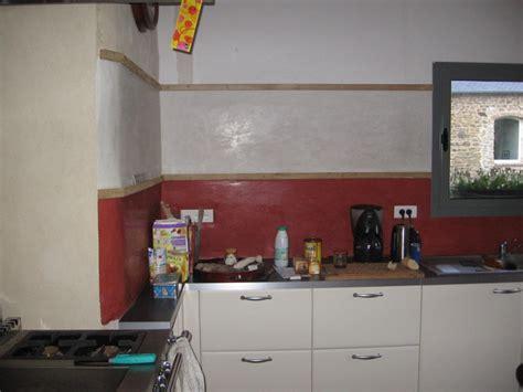 tadelakt cuisine credence murale cuisine maison design sphena com
