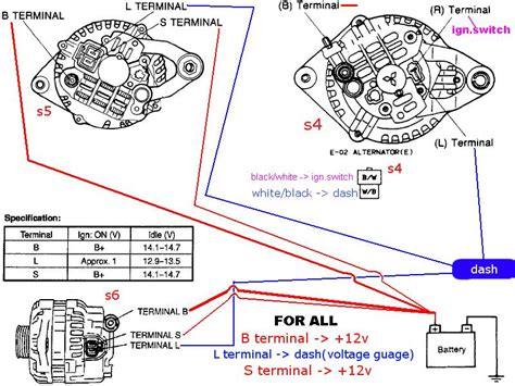 fd alternator wiring rxclubcom mazda rx forum