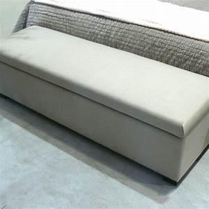 Banc Coffre De Rangement Conforama : photo banc de lit coffre ~ Dailycaller-alerts.com Idées de Décoration