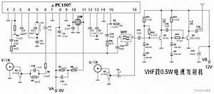 Vhf 0 5 W Tv Transmitter Circuit - Power Supply Circuit - Circuit Diagram