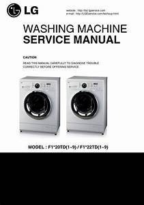 Lg F1222td Washing Machine Service Manual