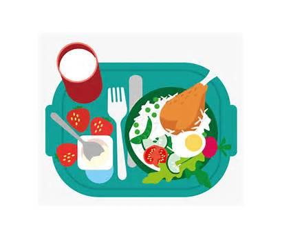 Meal Healthy Cartoon Breakfast Clip Lunch Clipart