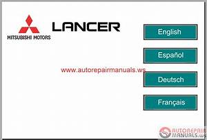 Mitsubishi Lancer Eur 2008 Service Manual