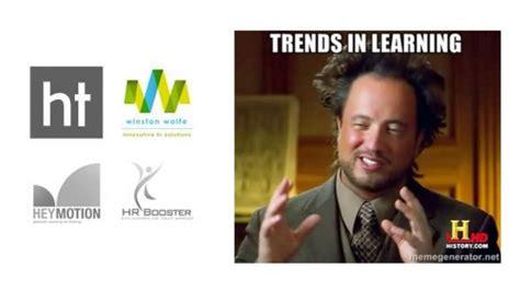Webinar Meme - learning trends with memes webinar presentation