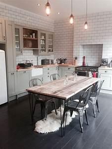 Best 25+ Rustic industrial kitchens ideas on Pinterest