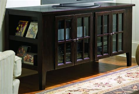 paula deen home entertainment console  tobacco clearance