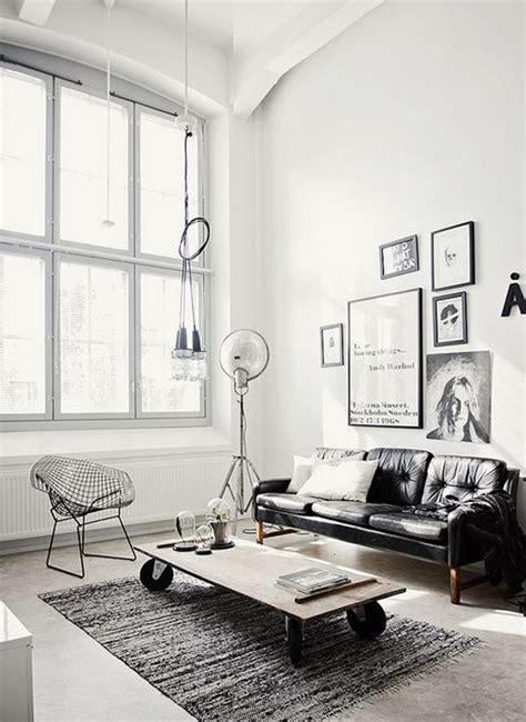 living room white 22 contemporary living area tips with industrial style Industrial