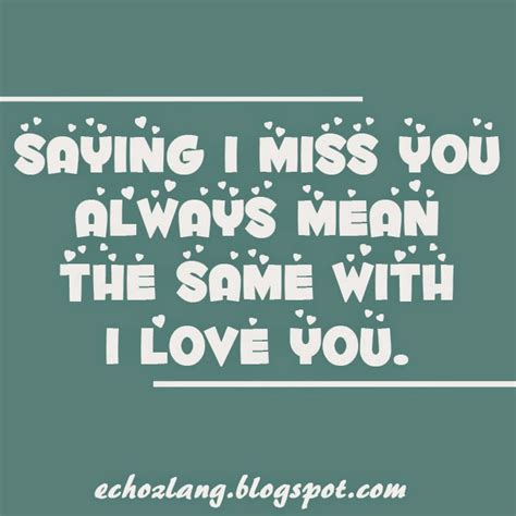 tagalog quotes saying i miss you
