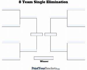 8 team bracket double elimination wwwimgkidcom the With 8 team bracket template