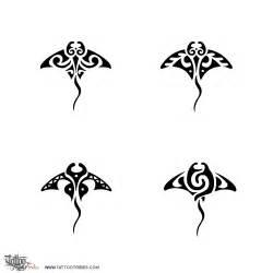 Manta Ray Tribal Tattoo Designs