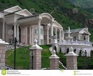 Www Lambert Home De : maison riche image stock image du palais d go tant r el 858125 ~ Frokenaadalensverden.com Haus und Dekorationen