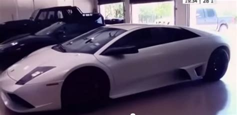 video tony parkers car collection celebrity cars blog