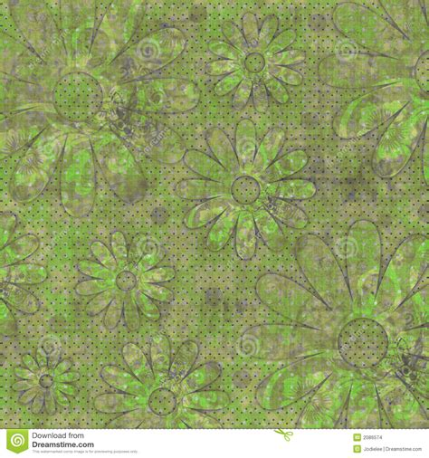 floral gypsy beachy scrapbook background stock images