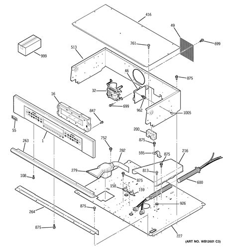 assembly view  control panel zetsfss
