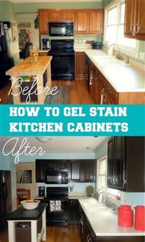 how to apply gel stain to kitchen cabinets the world s catalog of ideas 9690