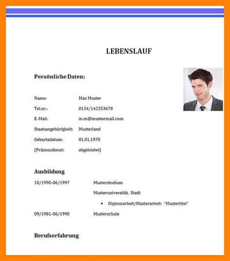 Lebenslauf Schülerpraktikum Muster by 20 Sch 252 Lerpraktikum Lebenslauf Vorlage Soleatablao