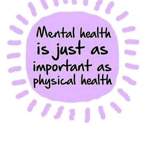 A message for all of us: Mental health is just as ...