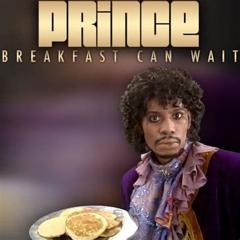 prince breakfast  wait cover dave chappelle dressed